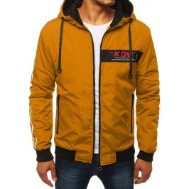 BASIC Hořčicová bunda s kapucí (tx2886) Velikost: M