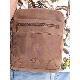ALWAYS WILD Hnědá pánská taška 22403-TGH D.BROWN Velikost: univerzální