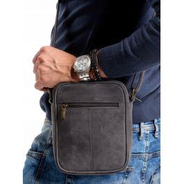 ALWAYS WILD Tmavě šedá pánská taška přes rameno 5021-TGH BLACK Velikost: univerzální