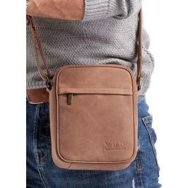 ALWAYS WILD Světle hnědá pánská taška 5021-TGH L.BROWN Velikost: univerzální