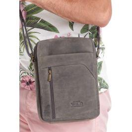 ALWAYS WILD Tmavě hnědá pánská taška 502-TGH BLACK Velikost: univerzální