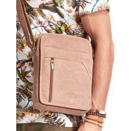 ALWAYS WILD Světle hnědá pánská taška 502-TGH L.BROWN Velikost: univerzální