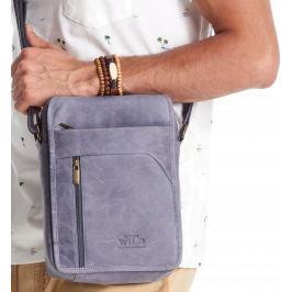 ALWAYS WILD Fialová pánská taška 502-TGH NAVY Velikost: univerzální