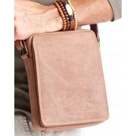 ALWAYS WILD Světle hnědá pánská taška 52006-TGH L.BROWN Velikost: univerzální