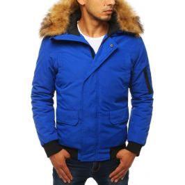 BASIC Pánská modrá bunda (tx2871) Velikost: S