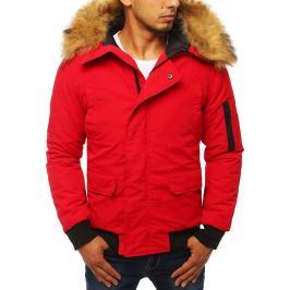 BASIC Pánská červená bunda (tx2875) Velikost: S