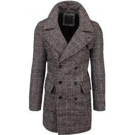 BASIC Pánský šedý kabát (cx0397) Velikost: M