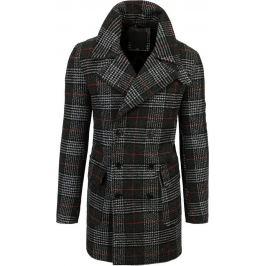BASIC Pánský černý kabát (cx0398) Velikost: M