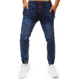 BASIC Pánské modré džínové kalhoty (ux2024) Velikost: M