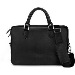 Černá pánská taška Solier (SL22 BLACK) Velikost: univerzální