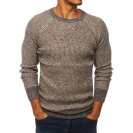BASIC Béžový pánský svetr (wx1296) Velikost: M