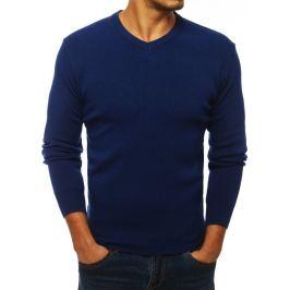 Modrý basic svetr (wx1279) Velikost: M