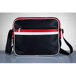 SOLIER Pánská taška přes rameno (MS1 RED) Velikost: univerzální