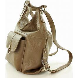 VERO STILO Dámská béžová taška - batoh s116i Velikost: univerzální