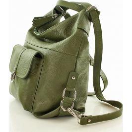 VERO STILO Dámská zelená taška - batoh s116j Velikost: univerzální