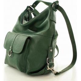 VEROSTILO Dámská zelená taška - batoh s116k Velikost: univerzální
