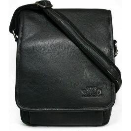 Always Wild černá kožená taška 015-NDM BLACK Velikost: univerzální