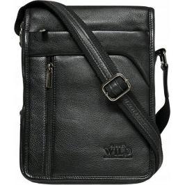 Always Wild černá kožená taška 5747-NDM BLACK Velikost: univerzální