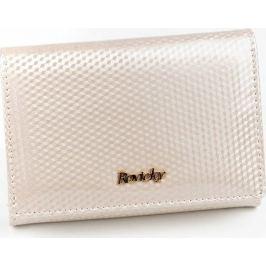 ROVICKY kožená krémová lakovaná peněženka HQ RFID 8804-SBR Velikost: univerzální