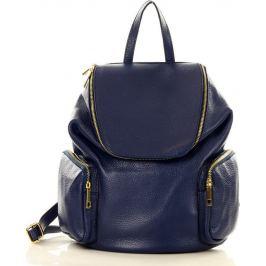 Modrý batoh s kapsami MARCO MAZZINI (pl51d) Velikost: univerzální