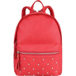 BASIC Červený batoh se cvočky HBFB202 Velikost: univerzální
