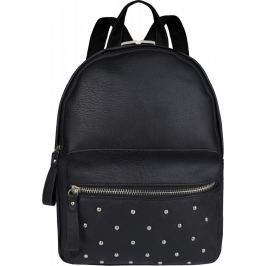 BASIC Černý batoh se cvočky HBFB202 Velikost: univerzální