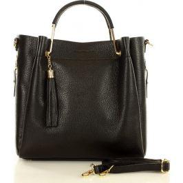 MARCO MAZZINI Černá shopper kabelka (370a) Velikost: univerzální