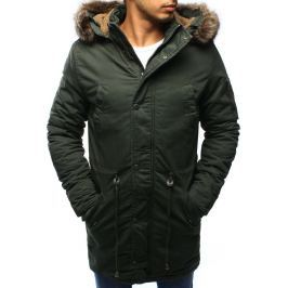 BASIC Khaki zimní bunda (tx1948) velikost: XL, odstíny barev: zelená