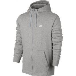 NIKE M NSW Hoodie 861754-063 velikost: L, odstíny barev: šedá