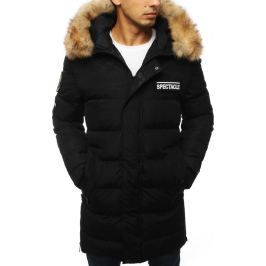 BASIC Pánská prošívaná zimní bunda  - černá (tx2916) Velikost: S