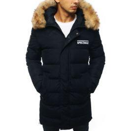 BASIC Pánská prošívaná zimní bunda  - námořnická modrá (tx2918) Velikost: S