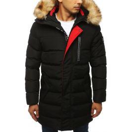 BASIC Pánská prošívaná zimní bunda - černá (tx2924) Velikost: S