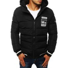 BASIC Černá pánská zimní bunda (tx2944) Velikost: S