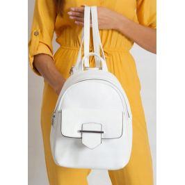 BASIC Bílý dámský batoh 2208-WHITE Velikost: univerzální