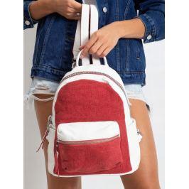 BASIC Dámský červený batoh H0360 RED Velikost: univerzální