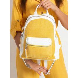 BASIC Dámský žlutý batoh H0360 YELLOW Velikost: univerzální