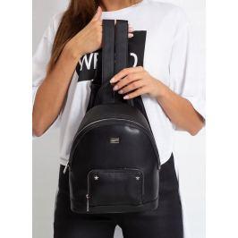 BASIC Černý dámský batoh 3939 BLACK Velikost: univerzální