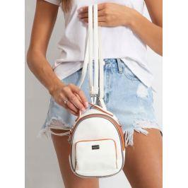BASIC Bílý malý batoh CM3790 WHITE Velikost: univerzální