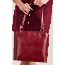 ROVICKY Elegantní červená kabelka TWR-52 Velikost: univerzální