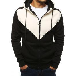 BASIC Pánská bunda na zip - černá (bx4143) Velikost: M