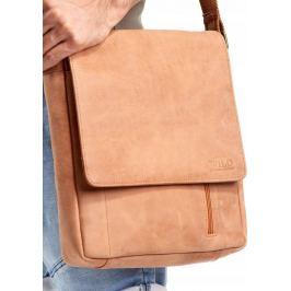 ALWAYS WILD Kožená taška rozměr A4 (788-TGH NAVY) Velikost: univerzální