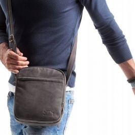 ALWAYS WILD Malá kožená taška 8021-TGH BLACK Velikost: univerzální