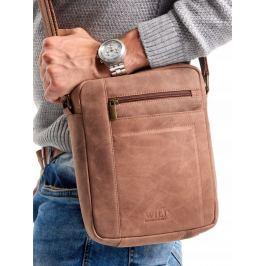 ALWAYS WILD Kožená taška (8022-TGH L.BROWN) Velikost: univerzální