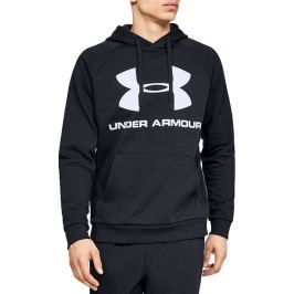 Under Armour Rival Fleece Sportstyle Logo Hoodie 1345628-001 Velikost: 2XL