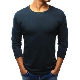 BASIC Pánské černé tričko přes hlavu  (lx0420) velikost: S, odstíny barev: černá