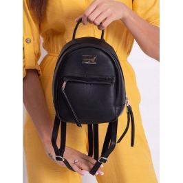 BASIC Dámský černý batoh 3391A BLACK Velikost: univerzální