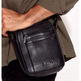 Always Wild pánská černá taška 8020-NDM BLACK Velikost: univerzální