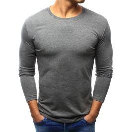 BASIC Pánská šedé tričko (lx0419) velikost: S, odstíny barev: šedá
