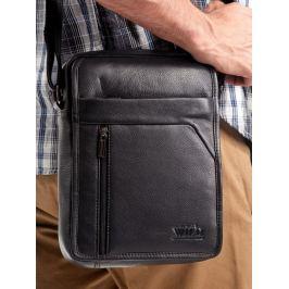 Always Wild kožená černá taška 502-NDM-BLACK Velikost: univerzální