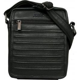Always Wild kožená černá taška 1114-NDM BLACK Velikost: univerzální